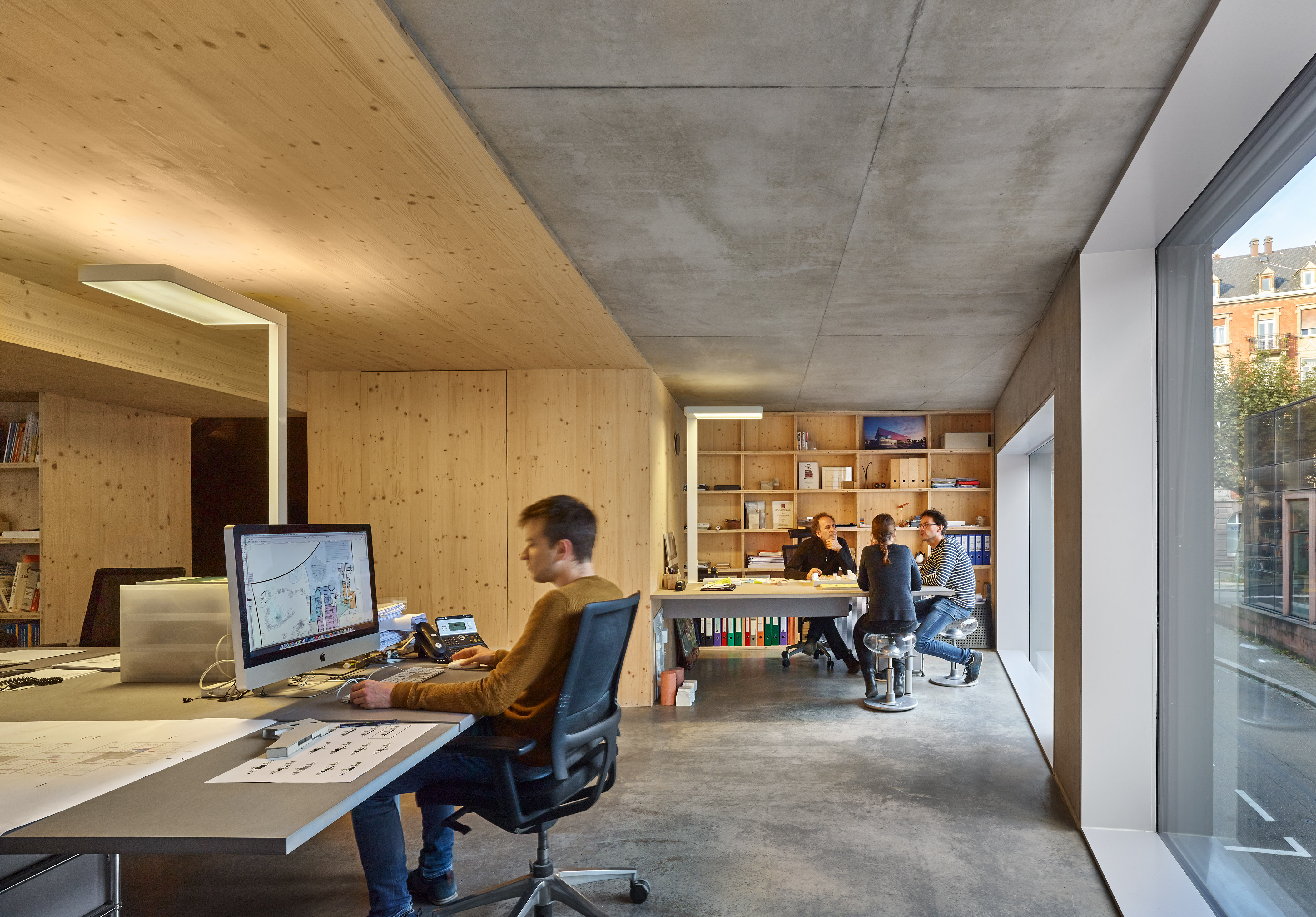 Dominique Coulon office by Eugeni Pons